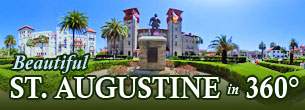 Beautiful St. Augustine in 360 degrees