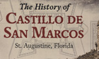 Partial view of cover of the History of Castillo de San Marcos.
