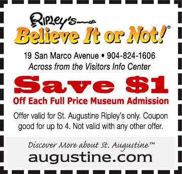 Ripley's believe it or not coupon code