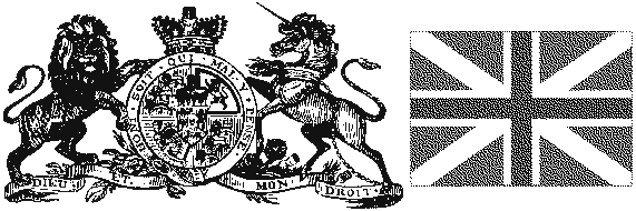 English crest and flag.