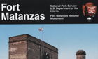 Partial view of the cover of the Fort Matanzas National Park Guide