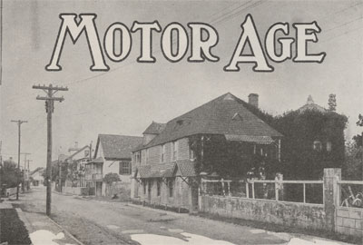 Cover of Motor Age Magazine, December 2, 1915