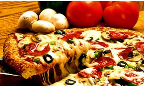 Pizza for carry out or delivery