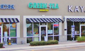 Green Tea Chinese restaurant in South St. Augustine, Florida