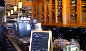 Ripe offers a large wine bar with a great selection of drinks!