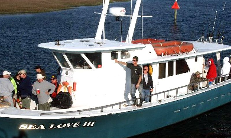 sea love charters st augustine fl