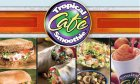 Tropical Smoothie Cafe in historic St. Augustine serves healthy drinks and food!