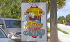 A1A Burrito Works Taco Shop off A1A Beach Blvd.