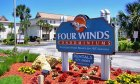 Four Winds Condos offers a beautiful beach getaway.