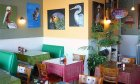 The Gallery Cafe features works by local artists on the walls of the dining room.