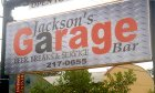 Jackson's Garage Bar located on King Street in historic St. Augustine, Florida.