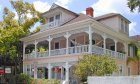 The historic Kenwood Inn Bed and Breakfast in St. Augustine, FL.