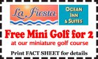 Free Mini Golf for 2
