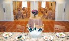 The Milano Room banquet facilities at Amici Italian Restaurant located at Saint Augustine Beach.