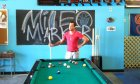 Shoot some pool at the Mile Marker Brewery.