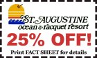 Ocean & Racquet Resort: 25% OFF May 1-18! 