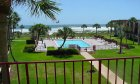 Great views of Saint Augustine beach at Spanish Trace Ocean Club.