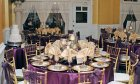 The Sala Menendez Room set up for a wedding!