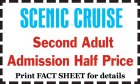 Second Adult Admission Half Price
