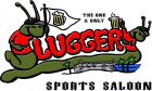 Sluggers Sports Saloon logo.
