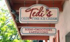 Tedi's Olde Tyme Ice Cream shop on St. George Street in historic downtown St. Augustine.