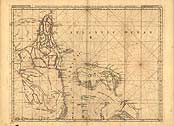 North America & West Indies Map (1768)