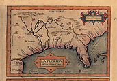 1584 Map of La Florida