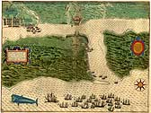 Map of St. Augustine (1589)