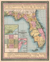 1850 Map of Florida