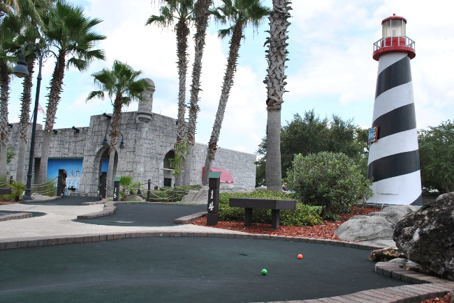 Adventure Landing Mini Golf