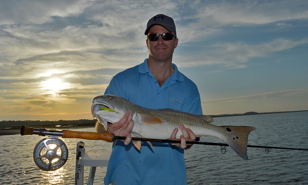 Photo Catching Drum On The Flats Of St Augustine Courtesy Man