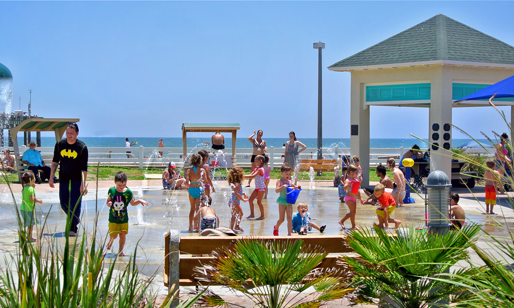 St Johns County Pier Splash Park At Augustine Beach