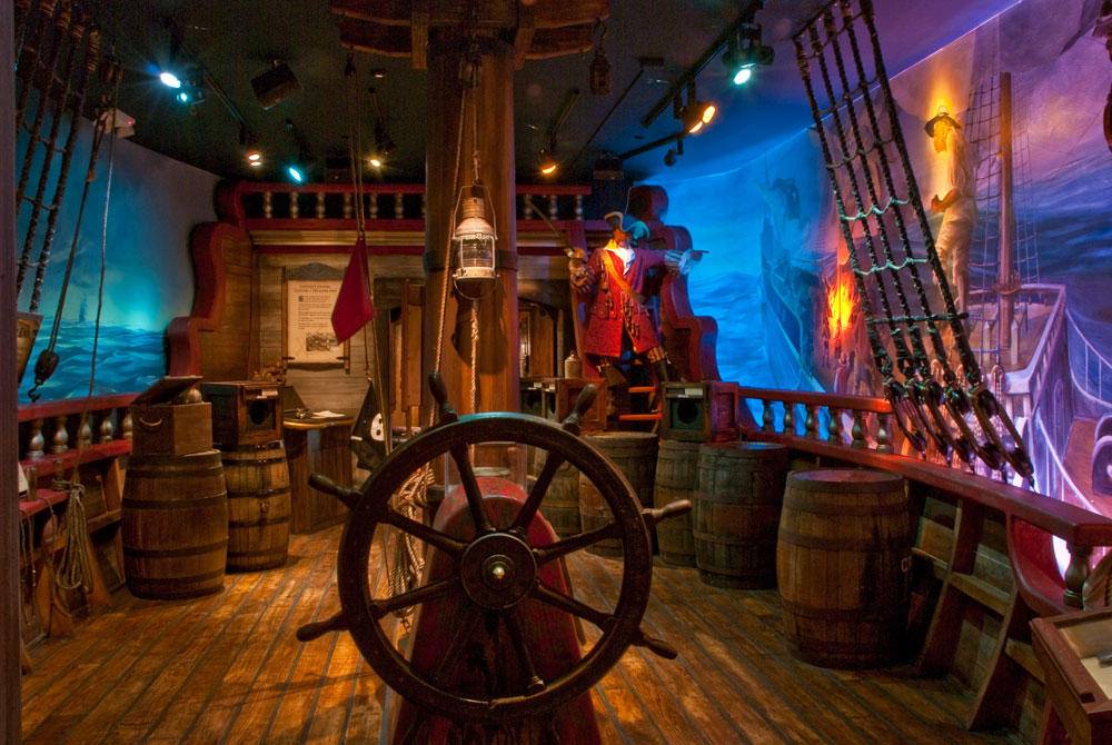 Pirate Ship Deck Backdrop St. Augustine is a Pir...