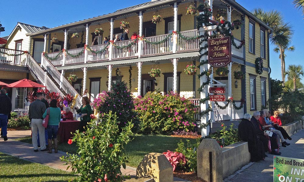 Bed Amp Breakfast Holiday Tour 2019 St Augustine Fl