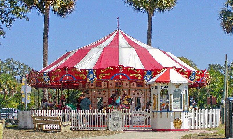 J Amp S Carousel Visit St Augustine