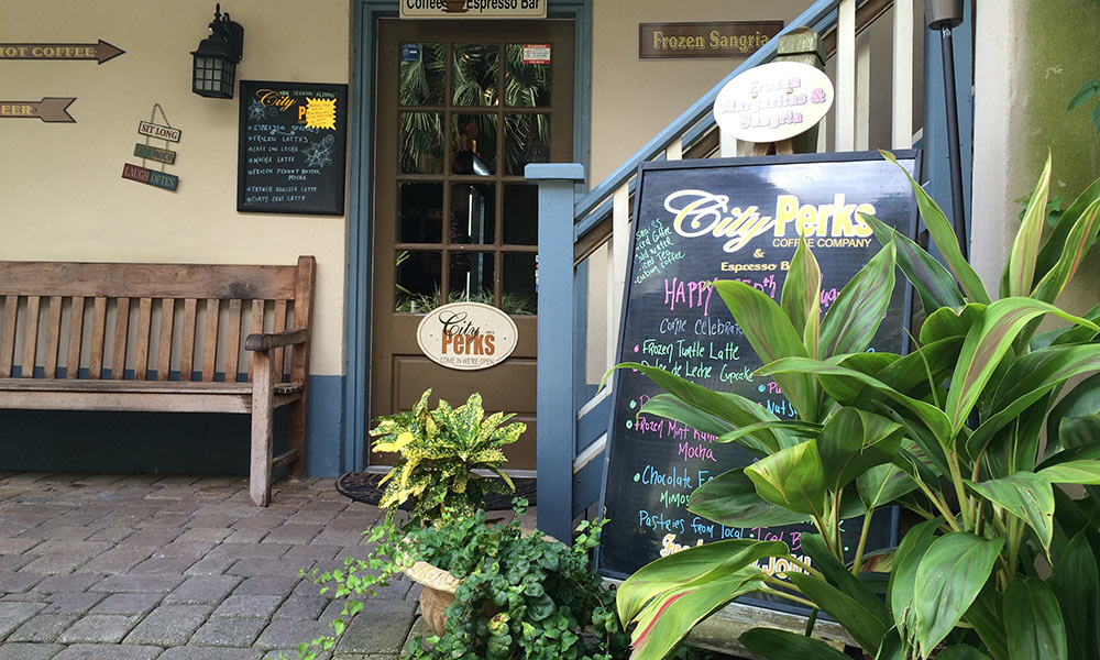 Top Coffee Hot Spots | Visit St  Augustine