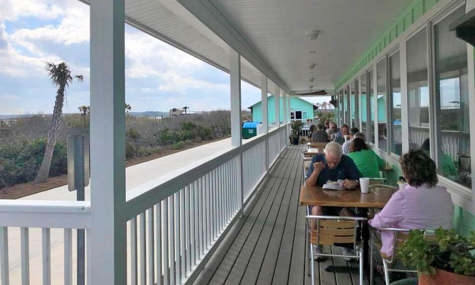 The commander 39 s shellfish camp visit st augustine for North beach fish camp menu