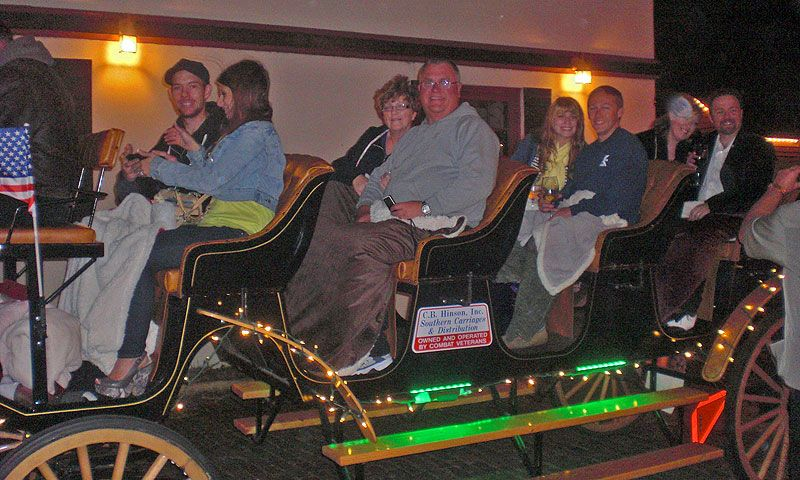 Carriage Night Of Light Tours