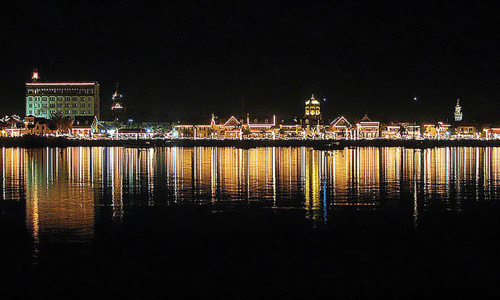 Eco Tours Nights Of Lights Boat Tour Visit St Augustine