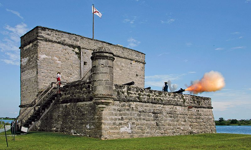 Fort Matanzas Cannon Firings And Boat Tours Visit St