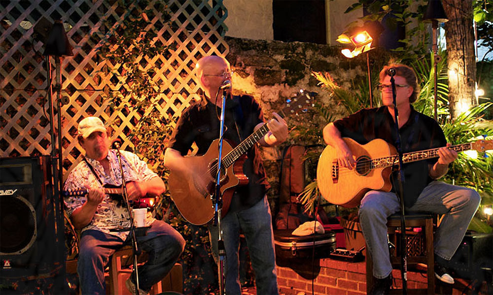 Live Music On Mondays Visit St Augustine