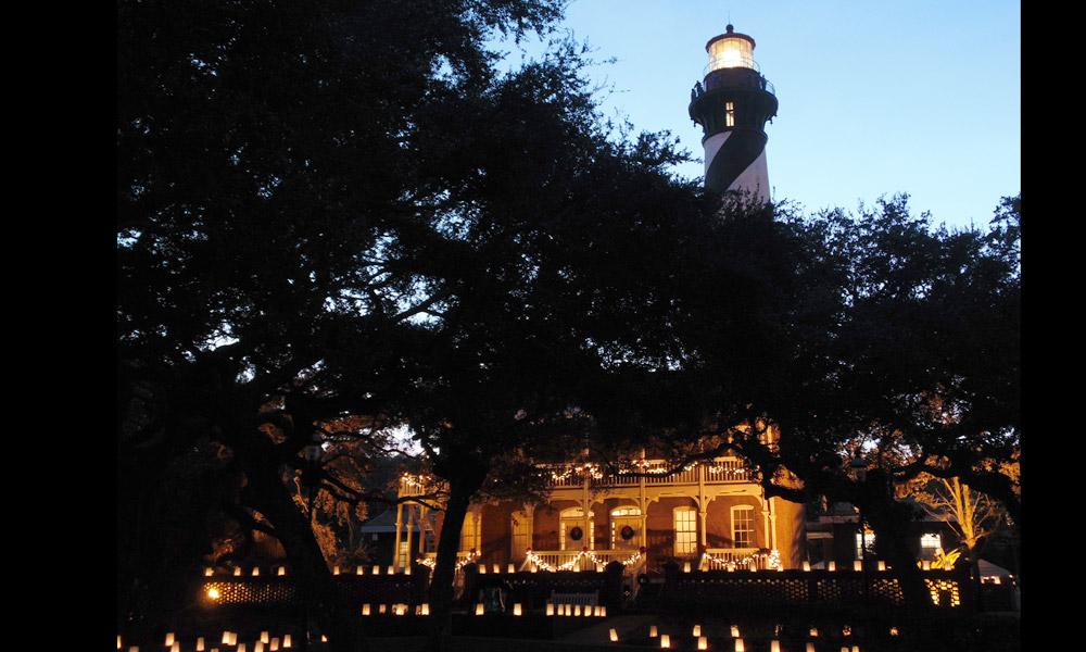 Luminary Night At St Augustine Lighthouse St Augustine Fl