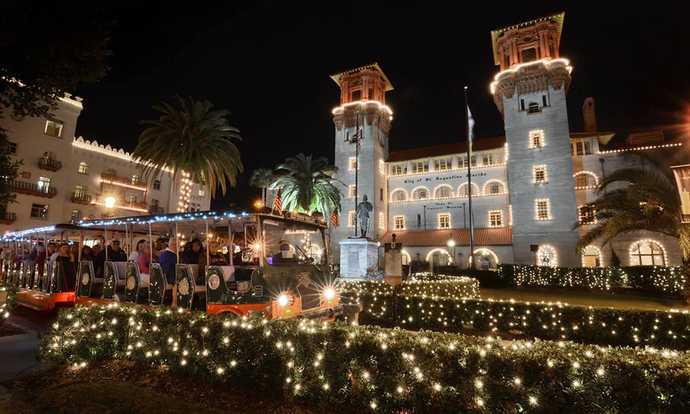 Where To See Christmas Lights 2020 Nights of Lights Tours 2020 21 | Visit St Augustine