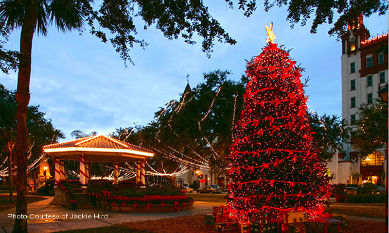 Old Town Trolley Famous Nights of Lights Tour 2017 | St. Augustine, FL