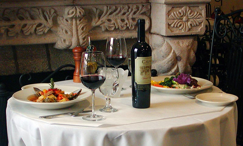 ALL Restaurant Categories Visit St Augustine - Fancy restaurant table