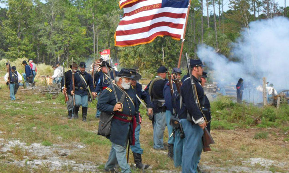 Pellicer Creek Raid Reenactment 2017 | Visit St  Augustine