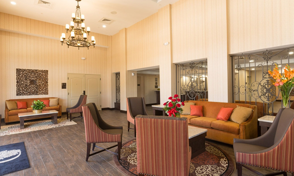Relax In The Oak Room Lounge At DoubleTree St Augustine