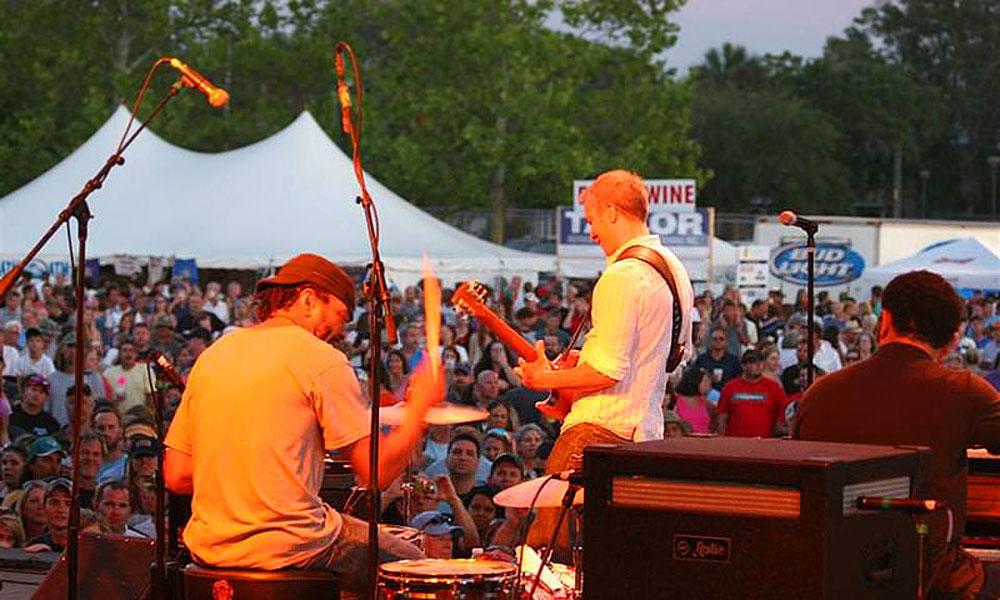 Rhythm Ribs Festival St Augustine Florida - 8 great florida music festivals