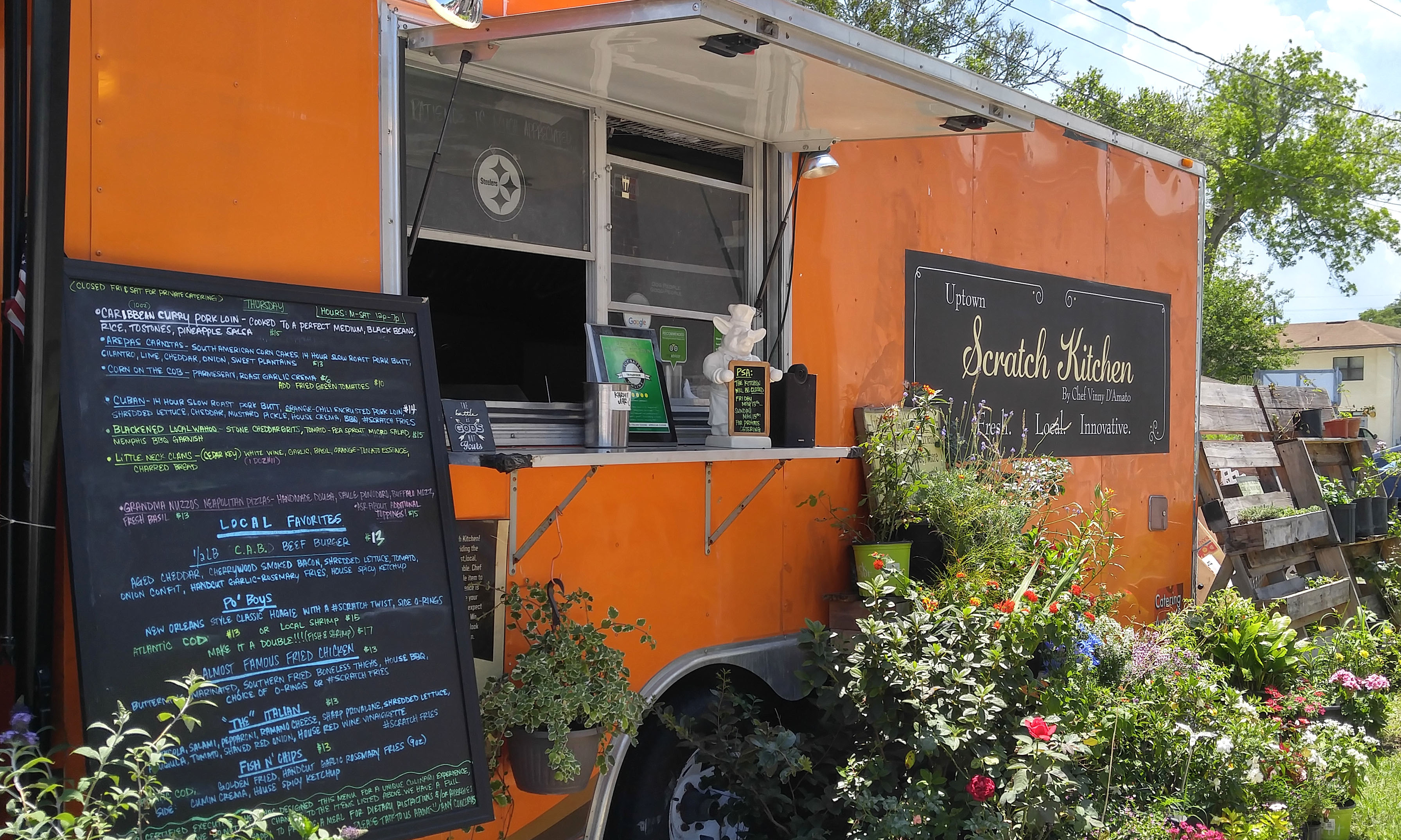 Scratch Kitchen uptown scratch kitchen food truck | visit st. augustine