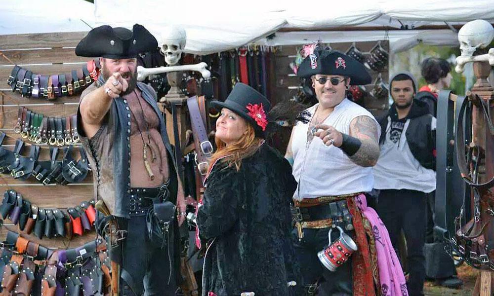 St. Augustine Pirate Gathering   St. Augustine, FL